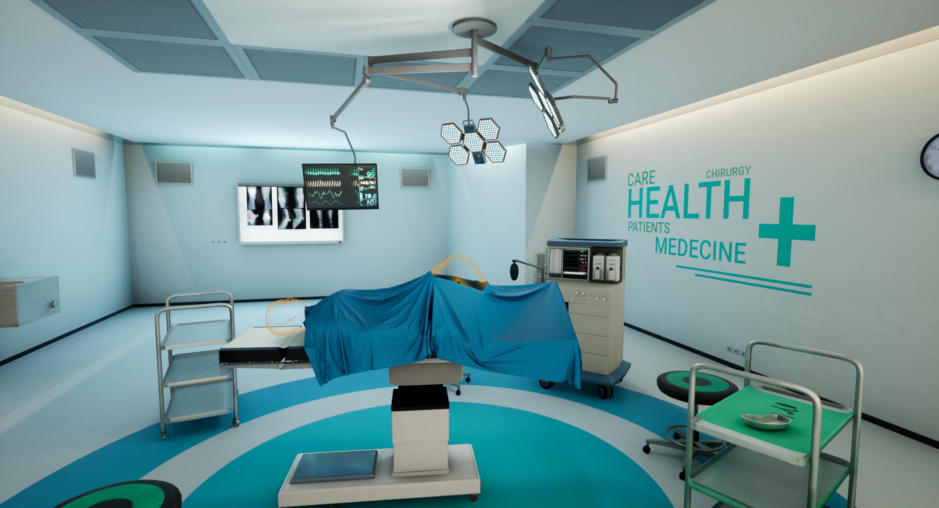 Visualisation en VR d'opérations de chirurgie orthopédique